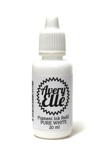 Avery Elle PURE WHITE Pigment Ink Refill R-13-10 zoom image