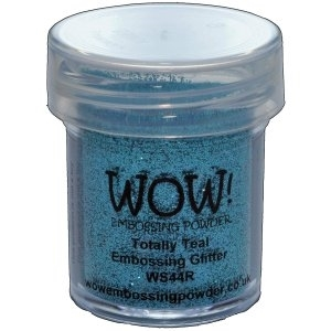 WOW Embossing Glitter TOTALLY TEAL Regular WS44R zoom image