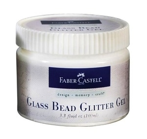 Faber-Castell GLASS BEAD GLITTER GEL Textural Accents 3.3oz 770317 zoom image