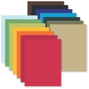 Simon Says Stamp Card Stock BULK 100# RAINBOW PACK BULKRAIN zoom image