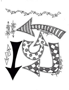 Dyan Reaveley WHICH WAY UP Cling Stamp DYR40958* Preview Image
