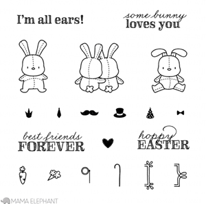 Mama Elephant Clear Stamps HONEY BUNNY Preview Image