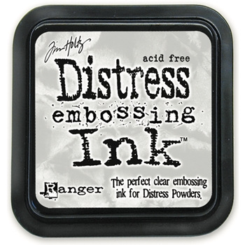 Tim Holtz Ranger Clear DISTRESS EMBOSSING INK PAD Ranger TIM21643