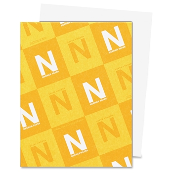 Neenah Classic Crest 80 LB REAM Smooth Solar White Paper Pack 250 Sheets
