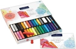 Faber-Castell 34 PIECE GELATOS GIFT SET 770161*