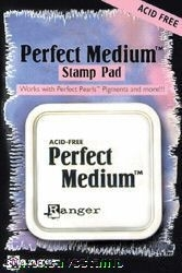 Ranger PERFECT MEDIUM STAMP PAD Pearls Clear Ink PPP16205 Preview Image