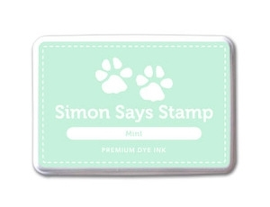 Simon Says Stamp Premium Dye Ink Pad MINT ink017 zoom image