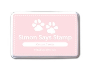 Simon Says Stamp Premium Dye Ink Pad COTTON CANDY ink015