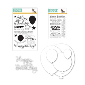 Simon Says Stamps And Dies BIRTHDAY BALLOON PACKAGE SetBBP55