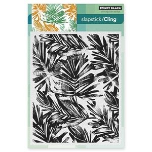 Penny Black Cling Stamp FRONDS Rubber Unmounted 40-314*