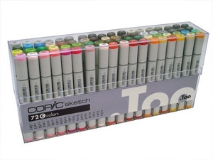 Copic SKETCH 72 PC SET C Markers CCCS72C
