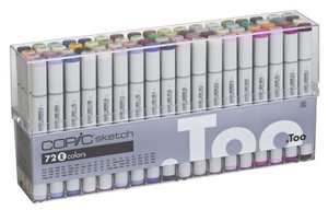 Copic SKETCH 72 PC SET E Markers EEES72E Preview Image
