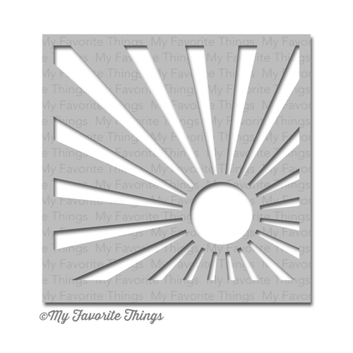 My Favorite Things SUN RAY Mix-ables Stencil MFT Preview Image