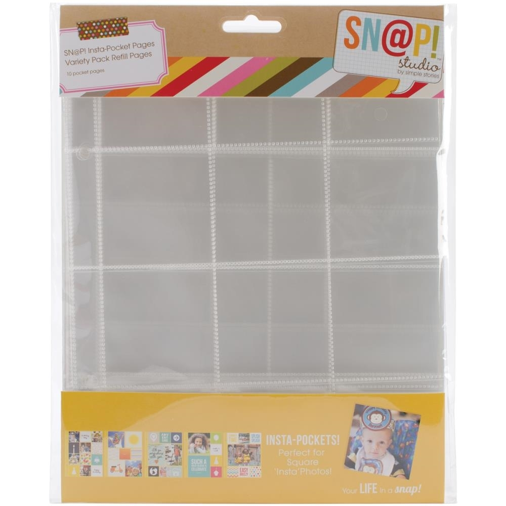 Simple Stories VARIETY PACK Pocket Pages Sn@p 4074* zoom image