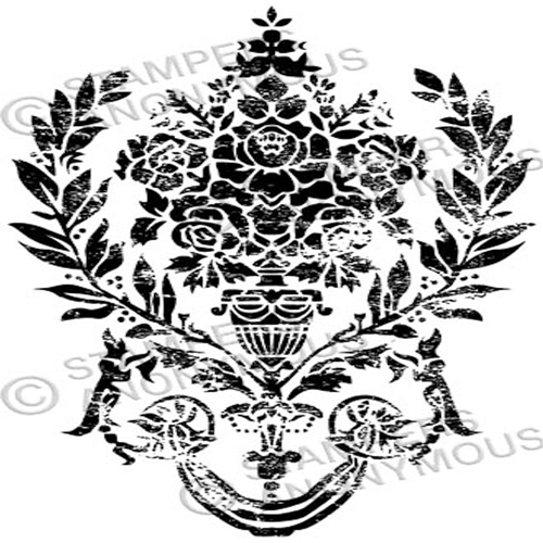 Tim Holtz Rubber Stamp DAMASK 2 Stampers Anonymous P4-2329* Preview Image