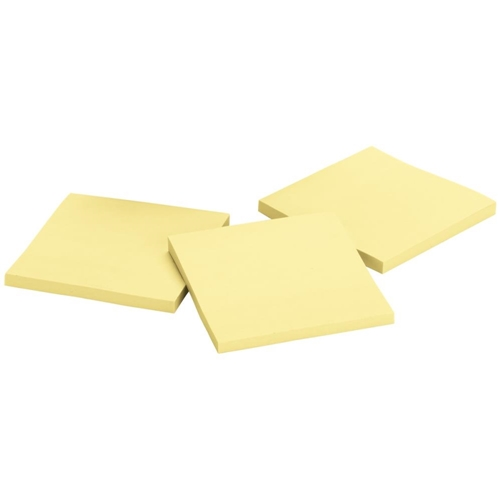 3M CANARY YELLOW Post-It Super Sticky Notes 3x3 3321-SSCY Preview Image