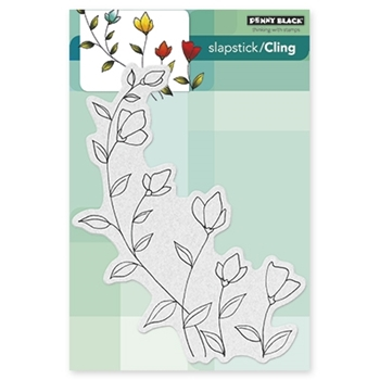 Penny Black Cling Stamp SOFTLY Rubber Unmounted 40-319