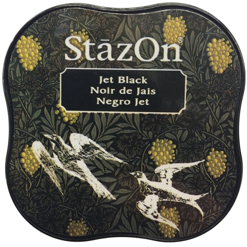 Tsukineko Stazon MIDI JET BLACK Ink Pad SZ-MID-31 Preview Image