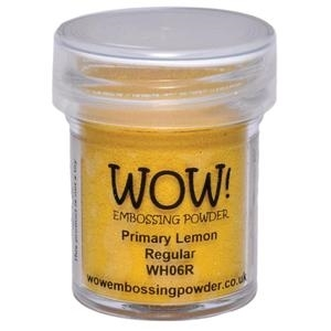 WOW Embossing Powder PRIMARY LEMON Regular WH06R