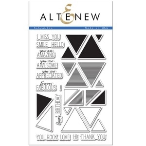 Altenew SOHCAHTOA Clear Stamp Set ALT1045 Preview Image