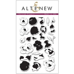 Altenew PAINTED FLOWERS Clear Stamp Set ALT1001 Preview Image