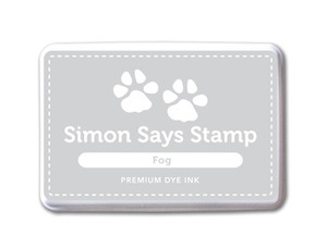 Simon Says Stamp Premium Dye Ink Pad FOG Gray Ink025