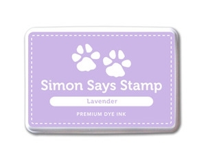 Simon Says Stamp Premium Dye Ink Pad LAVENDER Purple Ink022