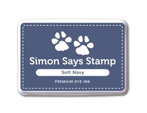 Simon's Exclusive Soft Navy Ink Pad