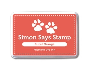 Simon Says Stamp Premium Dye Ink Pad BURNT ORANGE Ink020 Preview Image