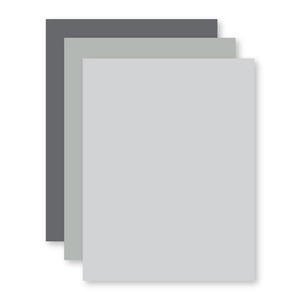 Simon Says Stamp Card Stock 100# 3 SHADES OF GRAY 592csGray Preview Image