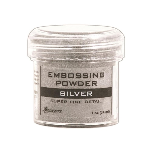 Ranger Embossing Powder SUPER FINE SILVER Detail EPJ37415 Preview Image