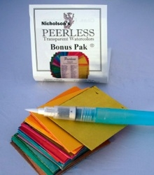 Peerless BONUS PAK Small Labeled Watercolors PBP