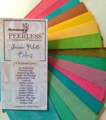 Peerless Joanne Watercolor Palette Colors JPC15