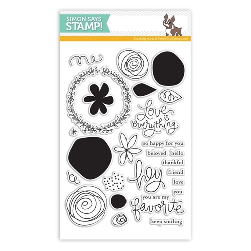 Simon Says Clear Stamps FAVORITE FLOWERS sss101426 Preview Image
