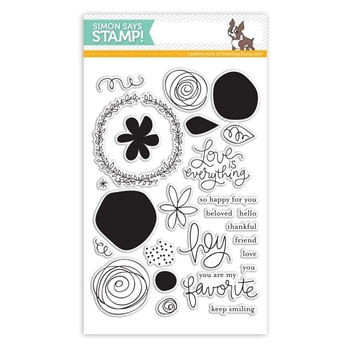 Simon Says Clear Stamps FAVORITE FLOWERS sss101426