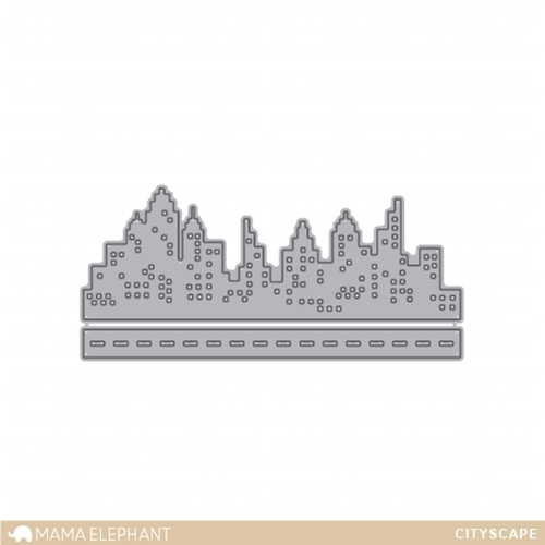 Mama Elephant CITYSCAPE Creative Cuts Steel Dies Preview Image