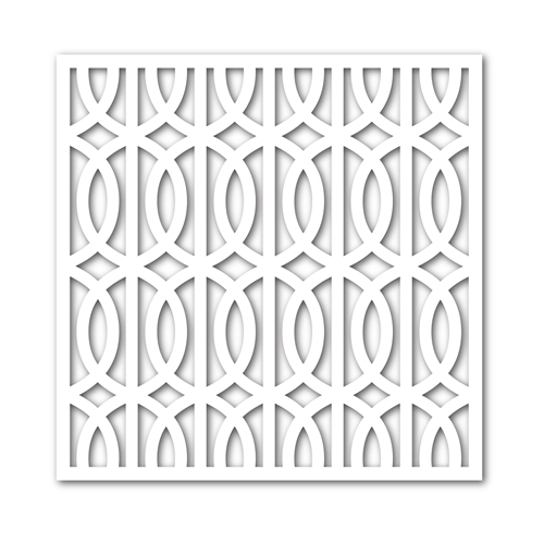 Simon Says Stamp Stencil TRELLIS GRATE ssst121346 Pure Sunshine * Preview Image