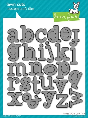 Lawn Fawn LOUIE'S ABCs Lawn Cuts Dies LF688 Preview Image