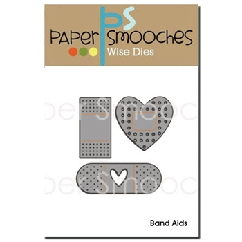 Paper Smooches BAND AIDS Wise Dies