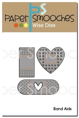 Paper Smooches BAND AIDS Wise Dies  zoom image