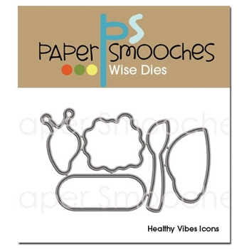 Paper Smooches HEALTHY VIBES ICONS Wise Dies