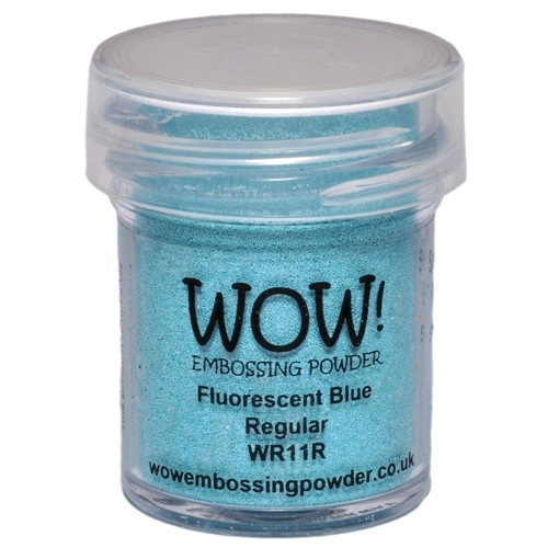 WOW Embossing Powder FLUORESCENT BLUE REGULAR WR11R Preview Image