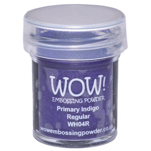 WOW Embossing Powder PRIMARY INDIGO REGULAR WH04R Preview Image