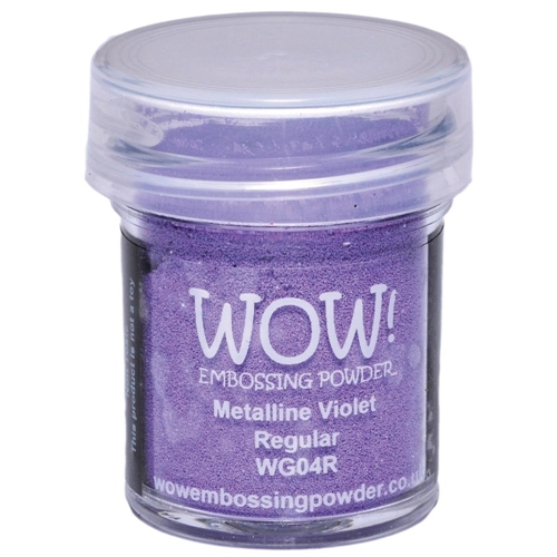 WOW Embossing Powder METALLINE VIOLET REGULAR WG04R Preview Image