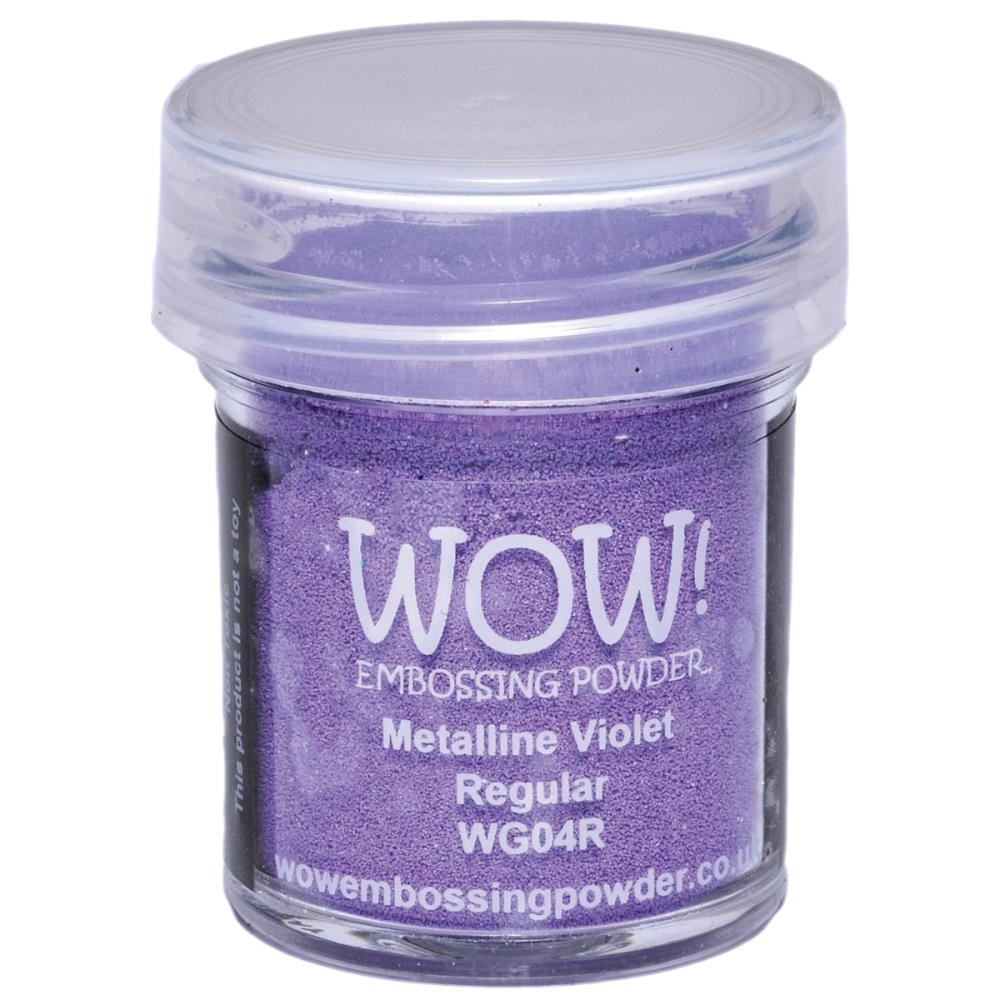WOW Embossing Powder METALLINE VIOLET REGULAR WG04R zoom image
