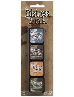 Tim Holtz Distress Ink Pad MINI KIT #9 TDPK40392