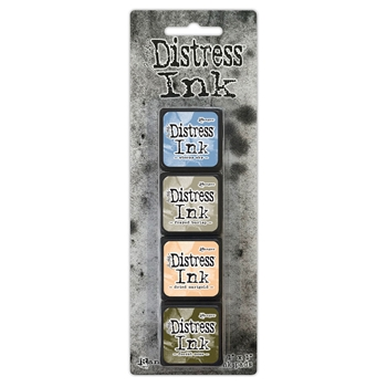Tim Holtz Distress Ink Pad MINI KIT 9 TDPK40392