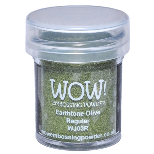 WOW Embossing Powder EARTHTONE OLIVE REGULAR WJ03R Preview Image
