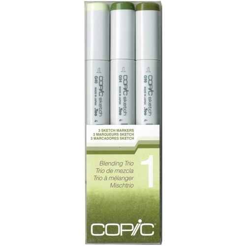 Copic Sketch Marker BLENDING TRIO 1 Set One 53454* Preview Image