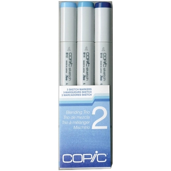 Copic Sketch Marker BLENDING TRIO 2 Set Two 53461